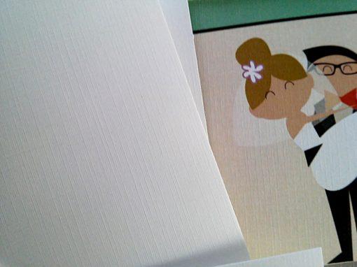 Leila & Giannis Wedding Invitation