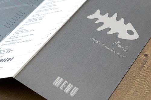 Kalis Seafood Restaurant Menu
