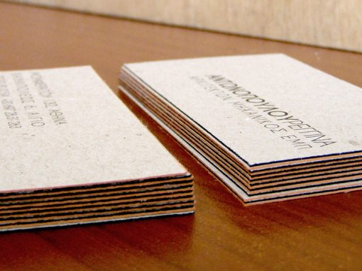 Architect Business Cards